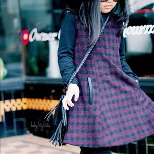 Alicia Simone Bristol wool dress
